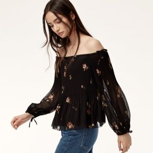Aritzia Wilfred Talence Blouse